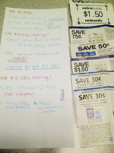 How to Roll ExtraBucks at CVS and Save a ton!